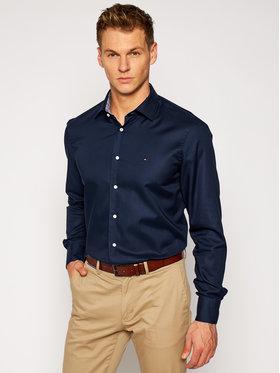 Tommy Hilfiger Tailored Tommy Hilfiger Tailored Koszula Twill Classic TT0TT08269 Granatowy Regular Fit