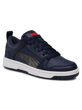 Puma Puma Sneakersy Rb LayUp Garment Washed Jr 371474 02 Granatowy