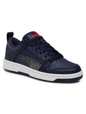 Puma Puma Sneakersy Rb LayUp Garment Washed Jr 371474 02 Tmavomodrá