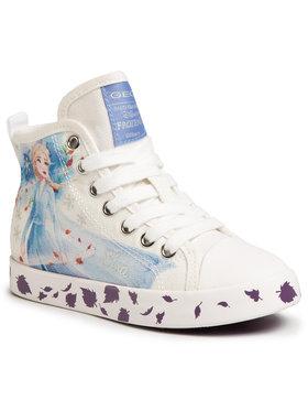 Geox Geox Sneakers aus Stoff J Ciak G. F J0204F 000AW C0653 S Weiß