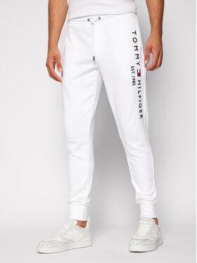 Tommy Hilfiger Tommy Hilfiger Spodnie dresowe Basic Branded MW0MW08388 Biały Regular Fit