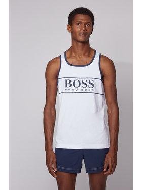 Boss Boss Tank top Beach 50426332 Alb Regular Fit