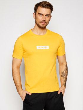 Calvin Klein Performance Calvin Klein Performance T-Shirt Pw 00GMS1K142 Żółty Regular Fit