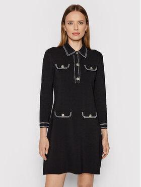 MICHAEL Michael Kors MICHAEL Michael Kors Ежедневна рокля MU180NCBVC Черен Regular Fit