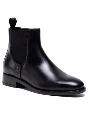 Gant Gant Боти тип челси Fayy 21551939 Черен