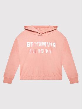 Coccodrillo Coccodrillo Sweatshirt ZC1132303EVG Rosa Regular Fit