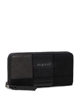 Desigual Desigual Великий жіночий гаманець 21WAYP19 Чорний