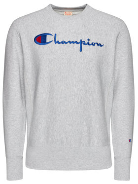 Champion Champion Mikina Script Logo 215211 Sivá Custom Fit