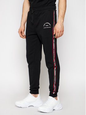 KARL LAGERFELD KARL LAGERFELD Pantalon jogging Sweat 705072 511900 Noir Regular Fit