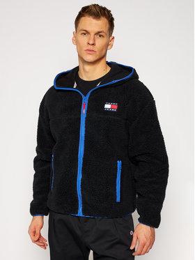 Tommy Jeans Tommy Jeans Mikina Tjm Sherpa DM0DM09863 Černá Comfort Fit