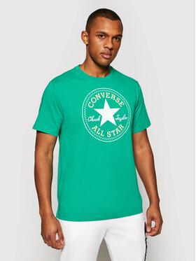 Converse Converse T-Shirt Chuck Pack 10007887-A47 Zelená Regular Fit