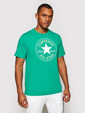 Converse Converse T-Shirt Chuck Pack 10007887-A47 Zielony Regular Fit
