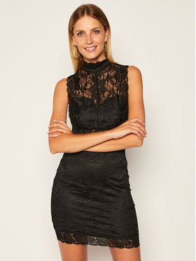 Guess Guess Coctailkleid W0YK49 WB570 Schwarz Slim Fit