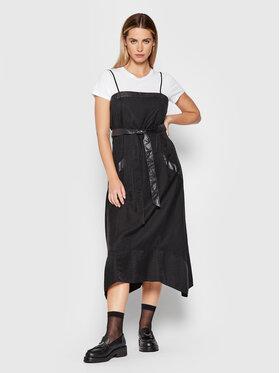 DKNY DKNY Každodenné šaty P1GB7K19 Čierna Regular Fit