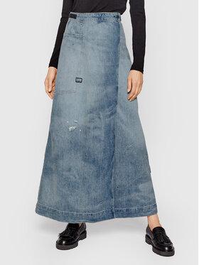 G-Star Raw G-Star Raw Džínsová sukňa A-Line Wrap D19671 8586 C605 Modrá Regular Fit