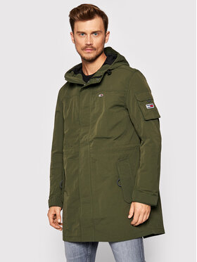 Tommy Jeans Tommy Jeans Hanorac Tjm DM0DM10967 Verde Relaxed Fit