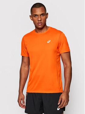 Asics Asics Тениска от техническо трико Katakana 2011A813 Оранжев Regular Fit