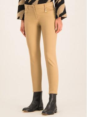 Pennyblack Pennyblack Kalhoty z materiálu Lancetta 21345019 Hnědá Regular Fit