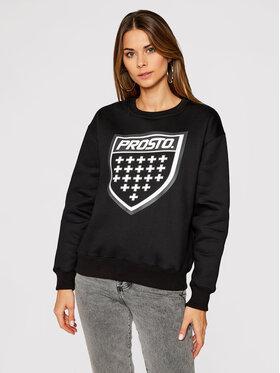 PROSTO. PROSTO. Sweatshirt Klasyk Shildie 9229 Schwarz Regular Fit