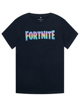NAME IT NAME IT T-shirt Fortnite Roar 13185769 Tamnoplava Regular Fit