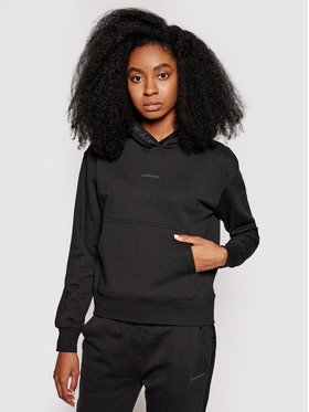 Calvin Klein Jeans Calvin Klein Jeans Mikina J20J215464 Černá Regular Fit