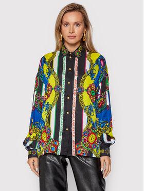 Versace Jeans Couture Versace Jeans Couture Hemd 71HAL2P1 Bunt Regular Fit