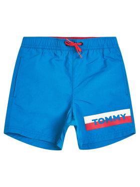 TOMMY HILFIGER TOMMY HILFIGER Szorty kąpielowe Medium Drawstring UB0UB00277C24 Niebieski Regular Fit