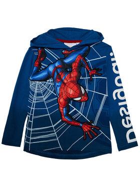 Desigual Desigual Sweatshirt Amazing 20WBTK15 Dunkelblau Regular Fit