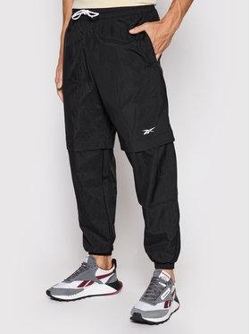 Reebok Reebok Pantalon en tissu Myt Woven GT5785 Noir Relaxed Fit