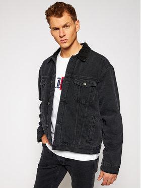 TOMMY HILFIGER TOMMY HILFIGER Giacca di jeans LEWIS HAMILTON MW0MW15302 Nero Oversize