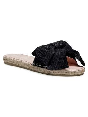 Manebi Manebi Espadrilės Sandals With Bow G 0.1 J0 Juoda