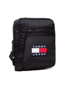 Tommy Jeans Tommy Jeans Τσαντάκι Tjm Heritage Reporter AM0AM07599 Μαύρο