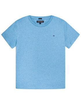 Tommy Hilfiger Tommy Hilfiger Marškinėliai Basic Cn Knit S KB0KB04140 D Mėlyna Regular Fit