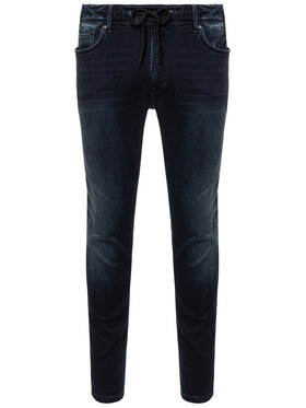 Pepe Jeans Pepe Jeans Дънки Johnson PM204385WE1R Тъмносин Relaxed Fit