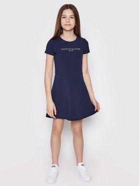 Tommy Hilfiger Tommy Hilfiger Φόρεμα καθημερινό Essential Skater KG0KG05789 D Σκούρο μπλε Regular Fit