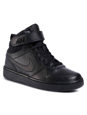 Nike Nike Παπούτσια Court Borough Mid 2 (GS) CD7782 001 Μαύρο