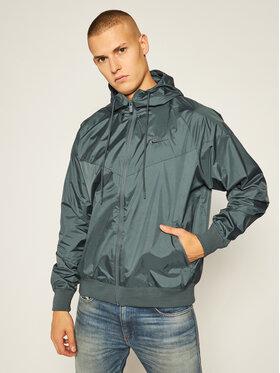NIKE NIKE Преходно яке Sportswear Windrunner AR2191 Зелен Loose Fit