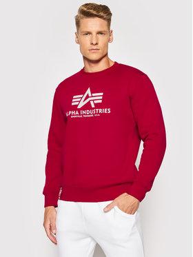 Alpha Industries Alpha Industries Sweatshirt Basic 178302 Rouge Regular Fit
