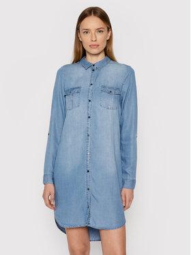 Vero Moda Vero Moda Sukienka jeansowa Silla 10184172 Niebieski Regular Fit
