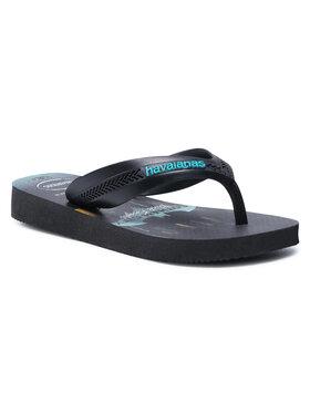 Havaianas Havaianas Flip flop Max Herois 41303023983 Negru