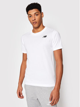 New Balance New Balance T-shirt Classic Arch NBMT1198 Bijela Slim Fit