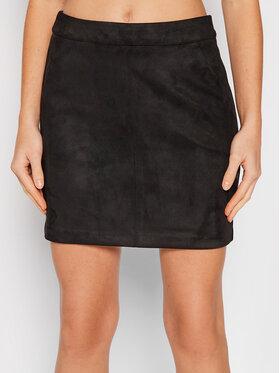Vero Moda Vero Moda Spódnica mini Donnadina 10210430 Czarny Regular Fit