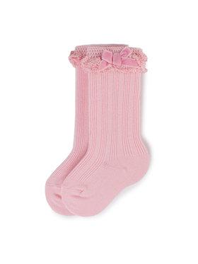 Mayoral Mayoral Vysoké dětské ponožky 10636 Růžová
