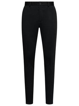 Jack&Jones Jack&Jones Παντελόνι υφασμάτινο Marco Phil 12173623 Μαύρο Slim Fit