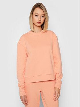 NA-KD NA-KD Sweatshirt Rounded Sleeve 1100-004269-0569-003 Orange Regular Fit
