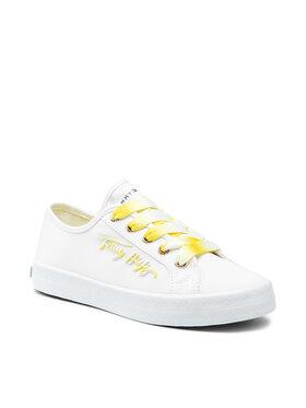 Tommy Hilfiger Tommy Hilfiger Tenisówki Essential Gradient Sneaker FW0FW05802 Biały