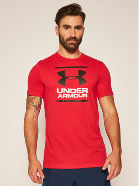 Under Armour Under Armour T-Shirt Ua Gl Foundation 1326849 Červená Loose Fit