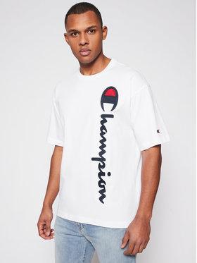 Champion Champion T-shirt Vertical 215942 Bijela Custom Fit