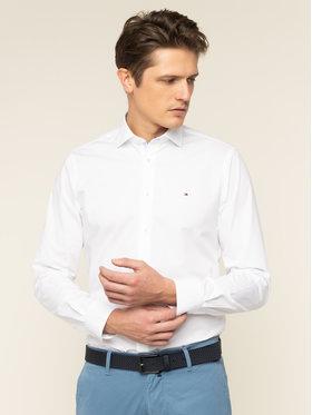 Tommy Hilfiger Tailored Tommy Hilfiger Tailored Koszula Poplin Classic TT0TT06391 Biały Slim Fit