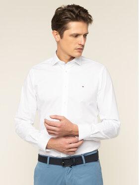 Tommy Hilfiger Tailored Tommy Hilfiger Tailored Риза Poplin Classic TT0TT06391 Бял Slim Fit